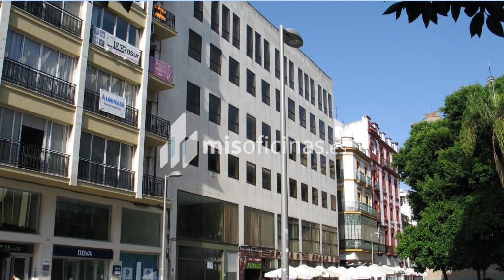Oficina en alquiler en Plaza Encarnación 24 de 5.955 metros en SevillaVista exterior frontal