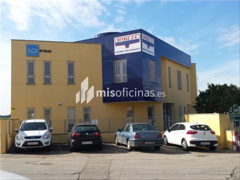 Oficina en venta en Avenida La Palmera 49 de 1.326 metros en Dos HermanasVista exterior frontal