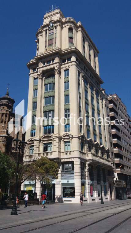 Oficina en alquiler en Calle Coso 34, Pl.6 de 122 metros en ZaragozaVista exterior frontal