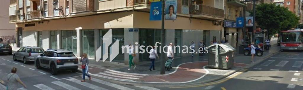 Local en alquiler en Av Peris Y Valero, Pl.0 de 265 metros, ValenciaVista exterior frontal