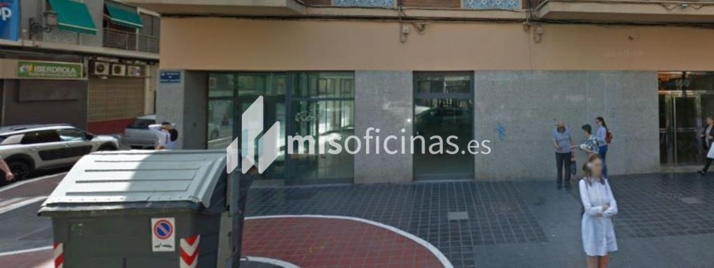 Local en alquiler en Av Peris Y Valero, Pl.0 de 265 metros en ValenciaVista exterior frontal