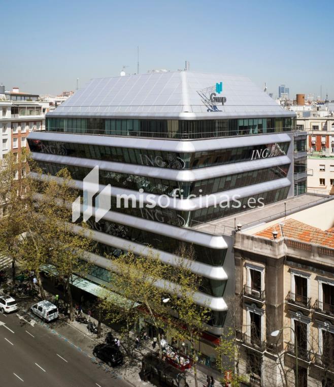Oficina en alquiler en Calle De Génova 27, Pl.4 de 682 metros, Almagro, MadridVista exterior frontal