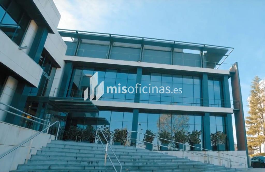Oficina en alquiler en Av. De San Luis, Pl.2 de 1.580 metros, Pinar del Rey, MadridVista exterior frontal