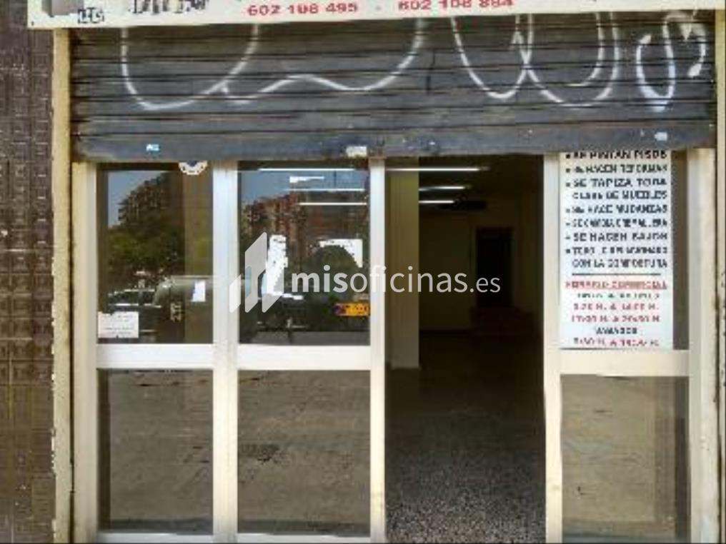 Local en alquiler de 155 metros en ValenciaVista exterior frontal
