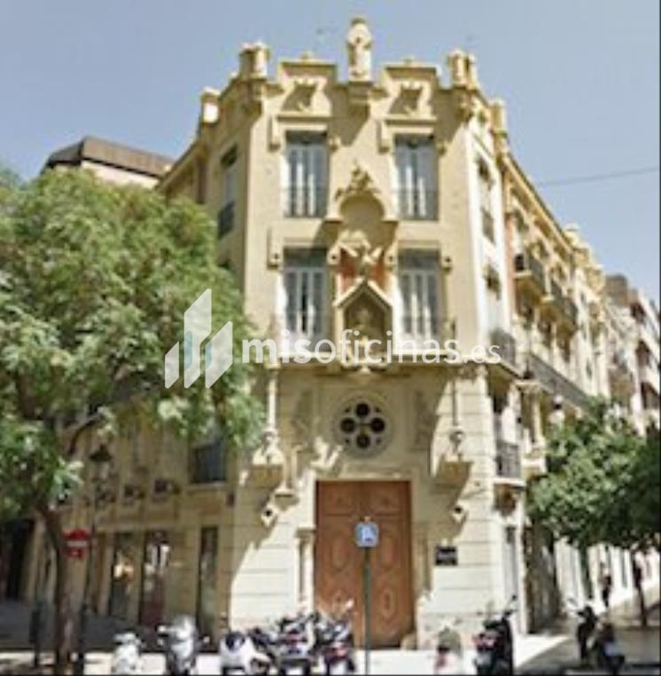 Oficina en alquiler de 40 metros en ValenciaVista exterior frontal