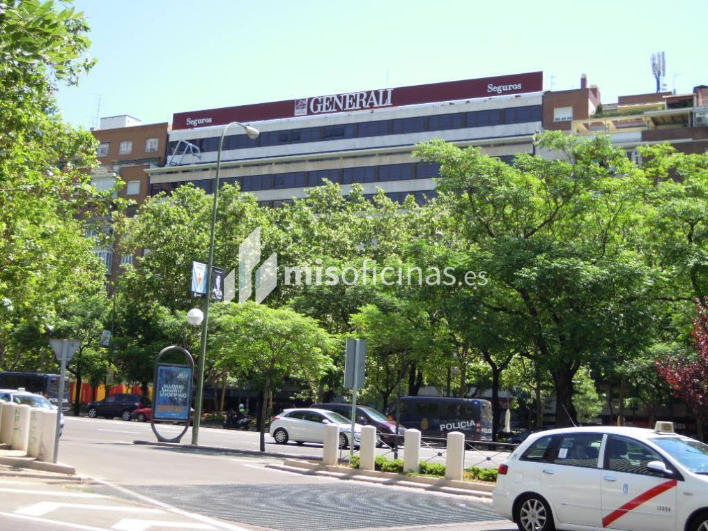 Oficina en alquiler en Paseo Castellana 130, Pl.5º de 1.255 metros en Castellana, MadridVista exterior frontal