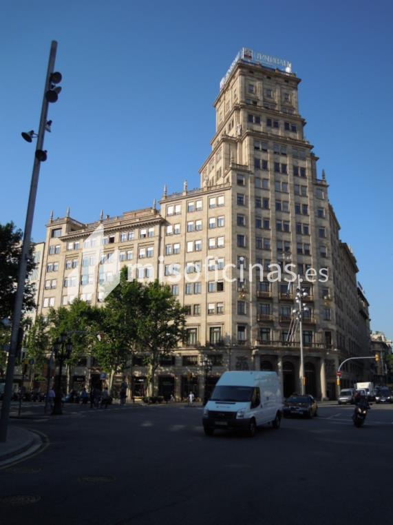 Oficina en alquiler en Paseo De Gracia  11, Esc.C, Pl.5º 1 Y 2 de 313 metros en Eixample, BarcelonaVista exterior frontal