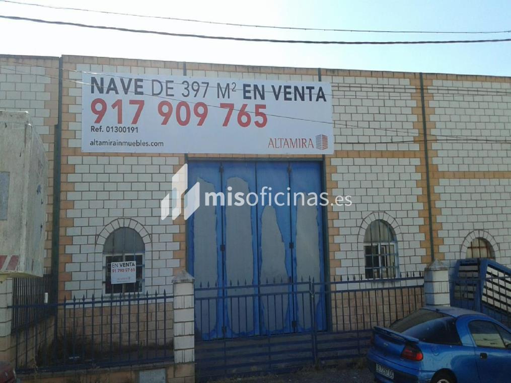 Nave en venta en Cerro De San Francisco-Calle Dos 0, de 396 metros, Valencia de AlcántaraVista exterior frontal