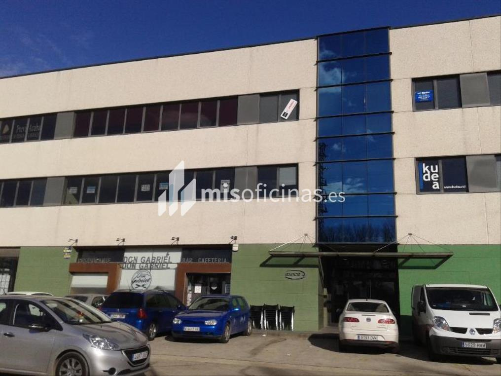Oficina en venta en Los Olmos 1, de 113 metros, Vitoria-GasteizVista exterior frontal