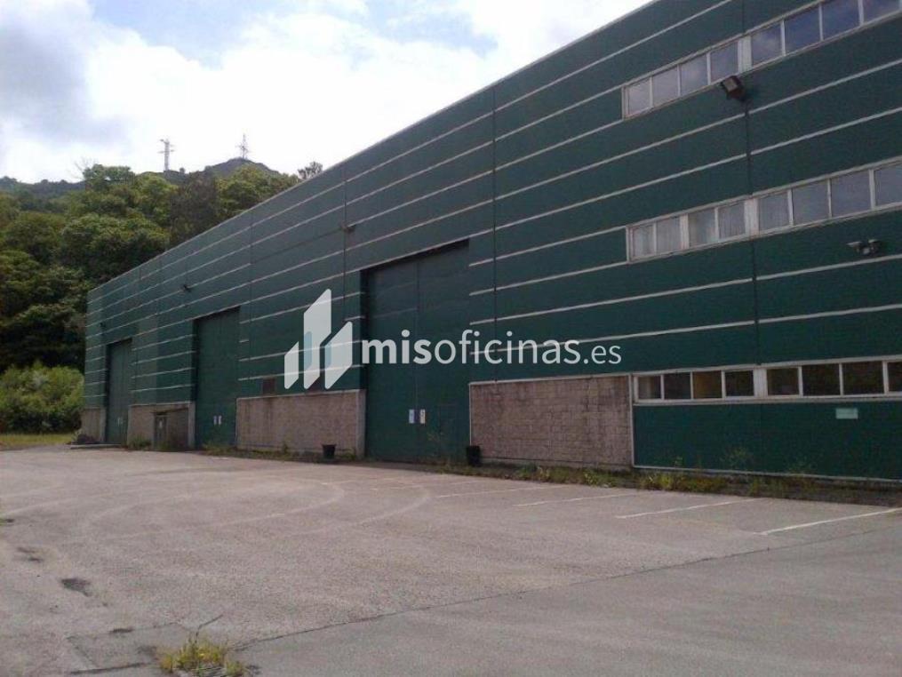 Nave en venta en La Cuadriella, Zona B, 102A de 6.066 metros en MieresVista exterior frontal