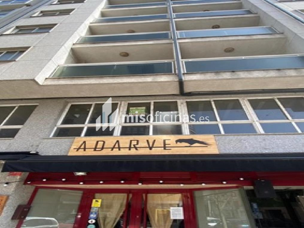 Oficina en venta en Benigno Quiroga 48, de 226 metros, SarriaVista exterior frontal