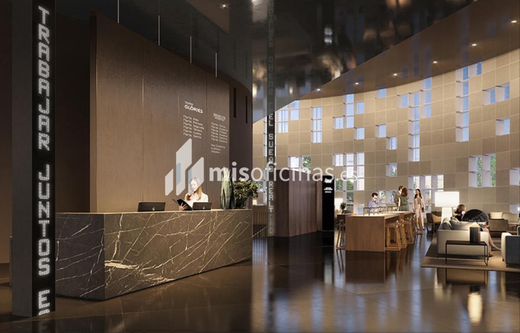 Oficina en alquiler en Avenida Diagonal 211, Pl.29 de 599 metros en Sant Martí, Barcelona foto 1