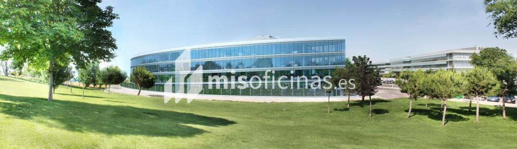 Oficina en alquiler en Avenida Bruselas  38 de 608 metros en Salamanca, MadridVista exterior frontal