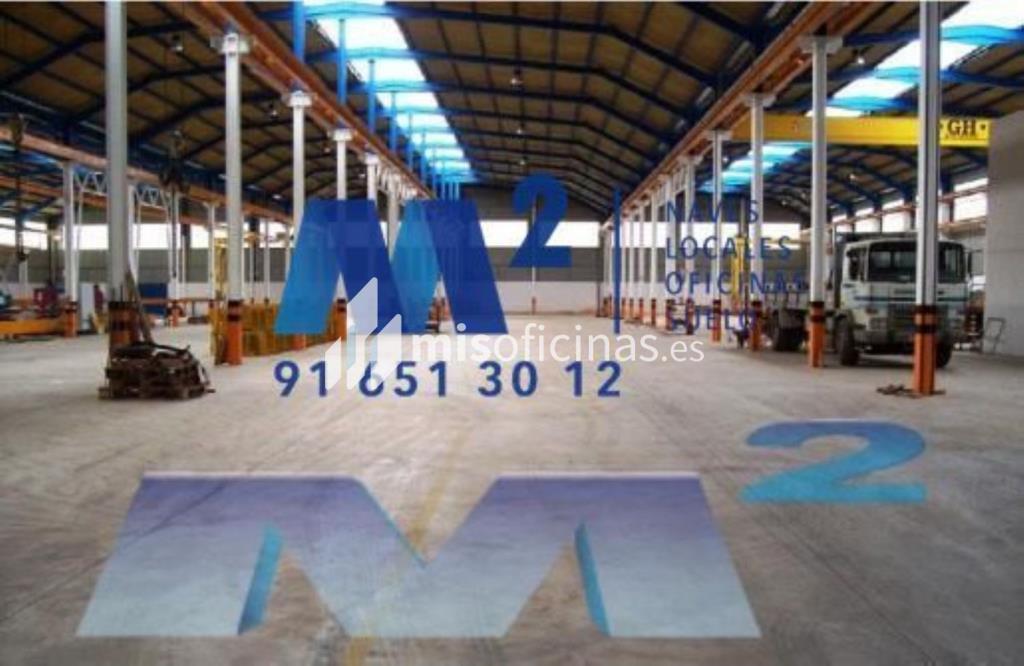 Nave en venta de 6.603 metros en CuencaVista exterior frontal
