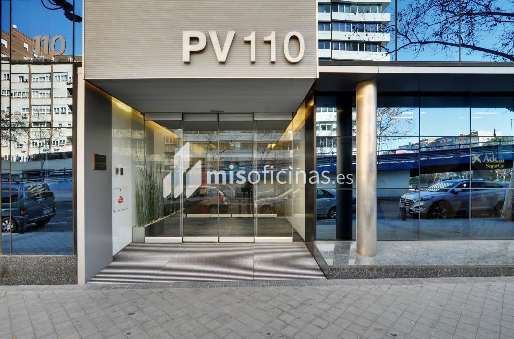 Oficina en alquiler en Calle Principe De Vergara 110 de 816 metros en Salamanca, Madrid foto 1