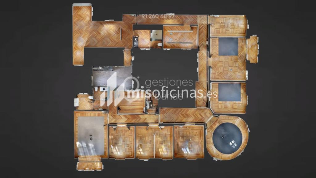 Oficina en alquiler de 440 metros en Retiro, Madrid foto 2