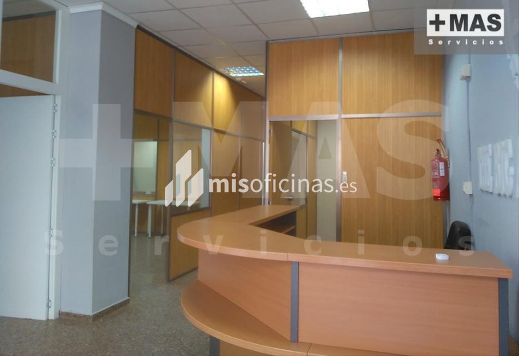 Oficina en alquiler de 150 metros en PaternaVista exterior frontal