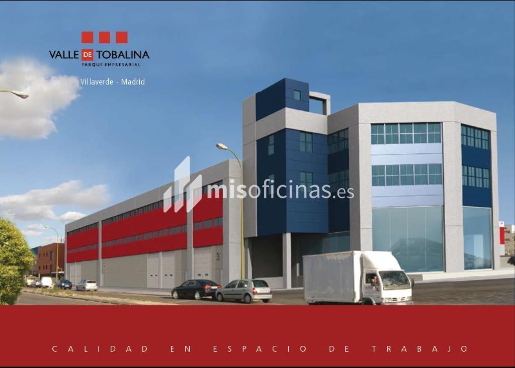 Oficina en venta en Calle Berzosa De Lozoya 1, Bl.Ofc 1 de 520 metros en MadridVista exterior frontal