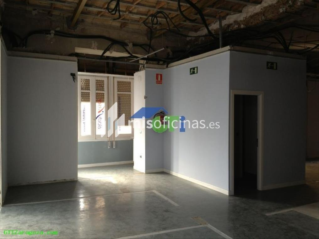 Oficina en alquiler de 123 metros en ZaragozaVista exterior frontal