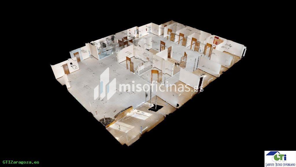 Oficina en alquiler de 357 metros en ZaragozaVista exterior frontal