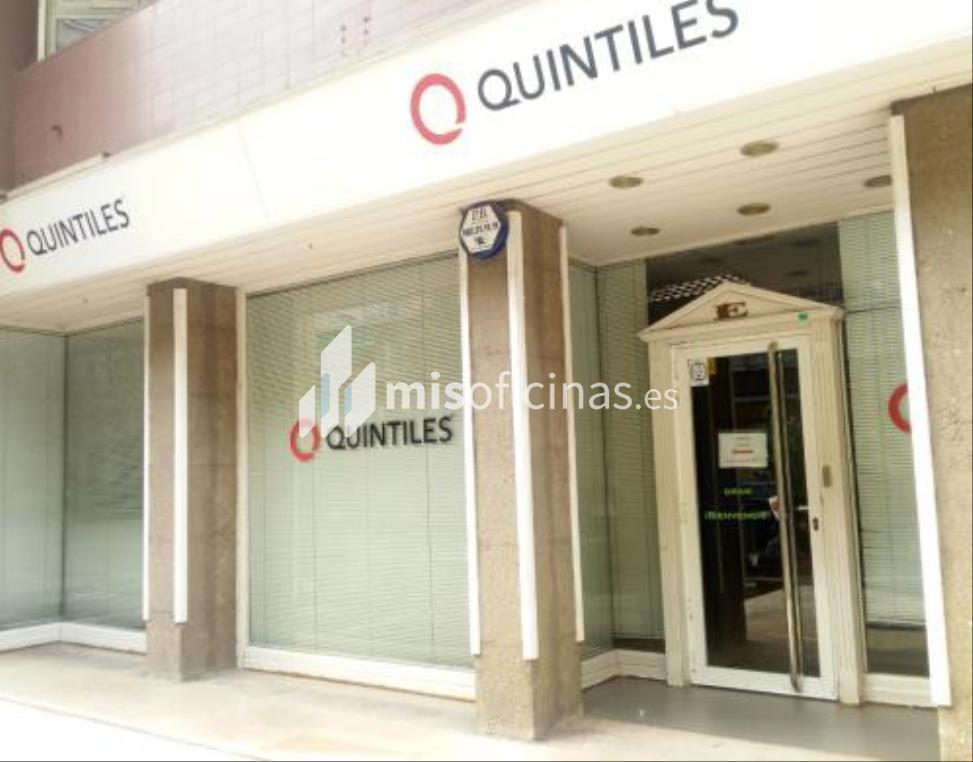 Oficina en venta en Calle Sardenya 537-541, Pl.Pb Local de 271 metros en Gràcia, BarcelonaVista exterior frontal