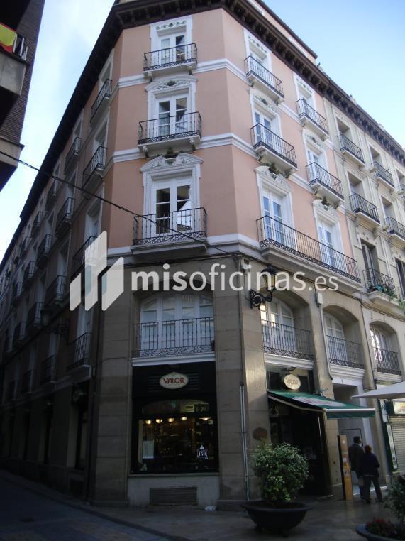 Oficina en alquiler en Plaza Sas 7 de 210 metros en ZaragozaVista exterior frontal