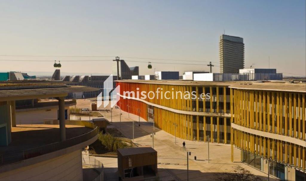 Oficina en alquiler en Avenida Pablo Ruiz Picasso 61 de 100 metros en ZaragozaVista exterior frontal
