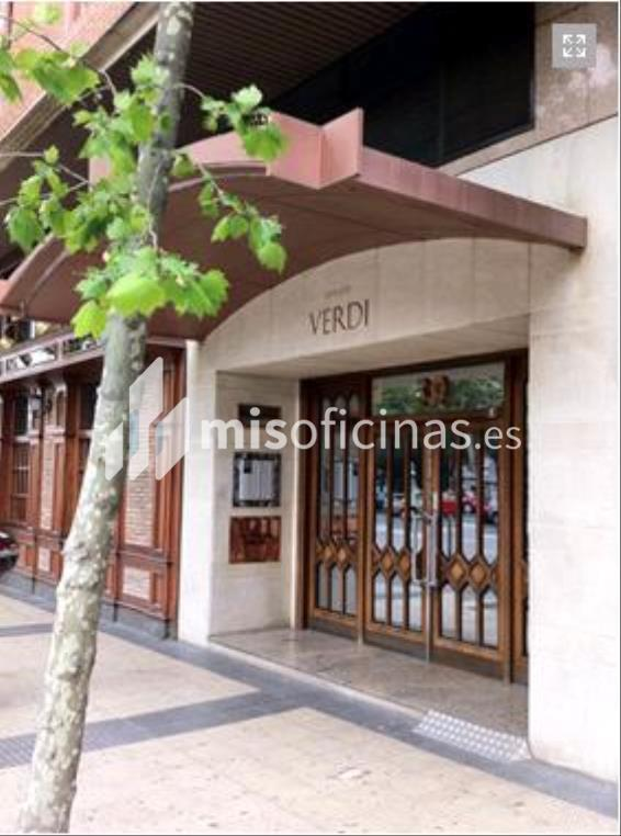 Oficina en alquiler en Avenida Cesar Augusto 30 de 25 metros en ZaragozaVista exterior frontal