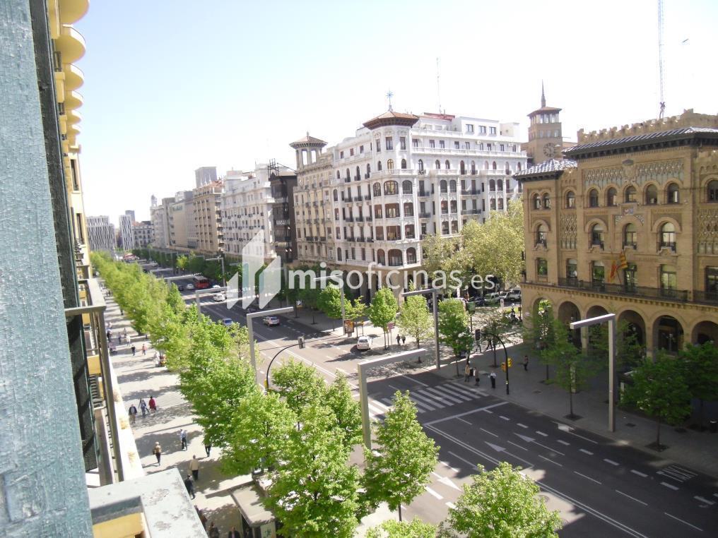 Oficina en alquiler en Paseo Independencia 34, Pl.3 de 235 metros en ZaragozaVista exterior frontal