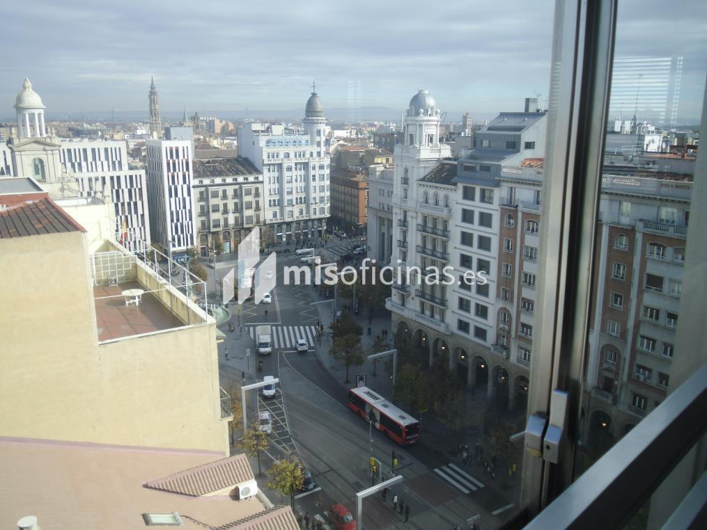 Oficina en alquiler en Paseo Independencia 8, Pl.10 de 180 metros en Zaragoza foto 1