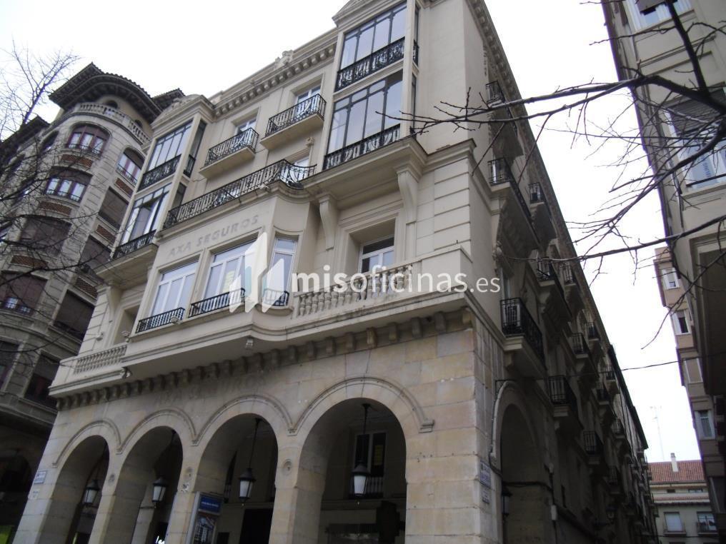 Oficina en alquiler en Paseo Independencia 16 de 100 metros en ZaragozaVista exterior frontal