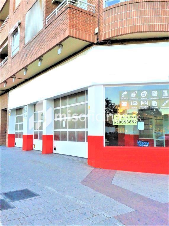 Local en alquiler, de 170 metros, en AlbaceteVista exterior frontal