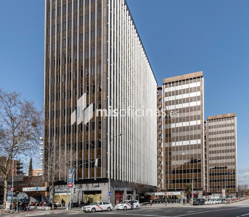Oficina en alquiler en Calle Agustín De Foxá 29, Pl.9 D de 296 metros, MadridVista exterior frontal