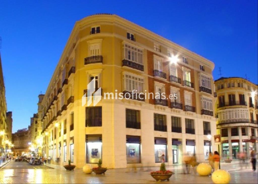 Oficina en alquiler en Calle Martínez 11 de 397 metros en MálagaVista exterior frontal