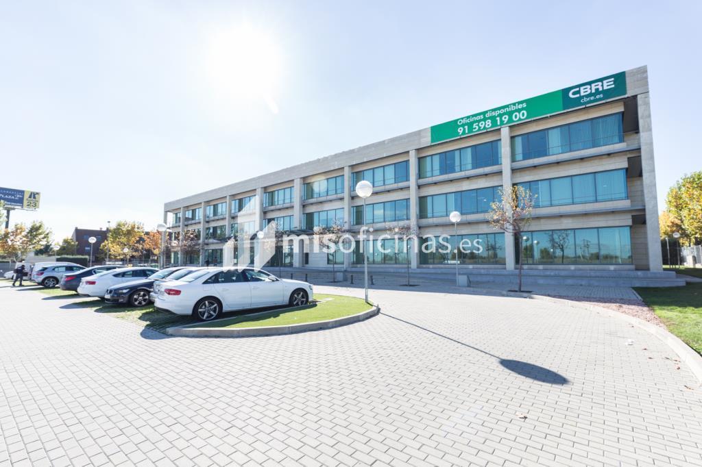 Oficina en alquiler en Calle Playa De Las Américas 2 de 122 metros en Las Rozas de MadridVista exterior frontal