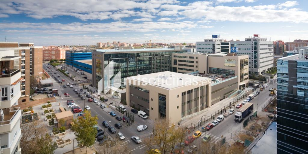 Oficina en alquiler en Avenida Manoteras  50-52, Bl.Edificio , Pl.Baja - 6ª  de 18.670 metros en Las Tablas-Sanchinarro, Madrid foto 1