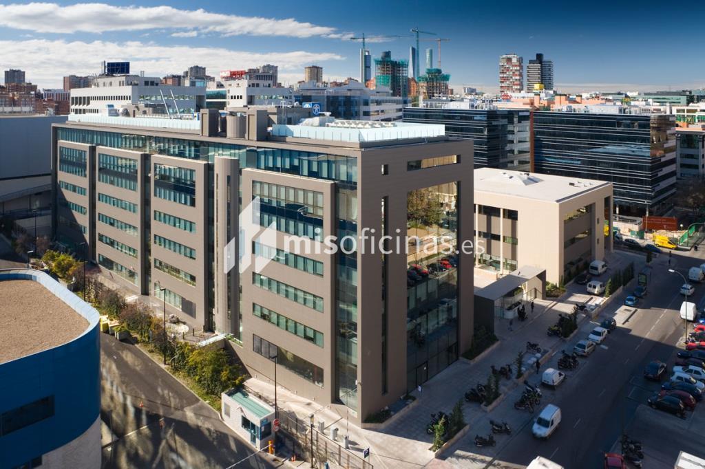 Oficina en alquiler en Avenida Manoteras  50-52, Bl.Edificio , Pl.Baja - 6ª  de 18.670 metros en Las Tablas-Sanchinarro, Madrid foto 2