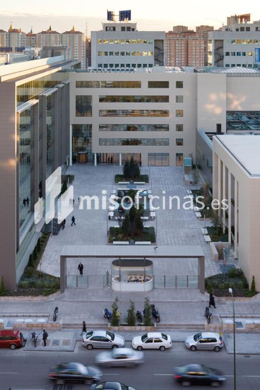 Oficina en alquiler en Avenida Manoteras  50-52, Bl.Edificio , Pl.Baja - 6ª  de 18.670 metros en Las Tablas-Sanchinarro, Madrid foto 0