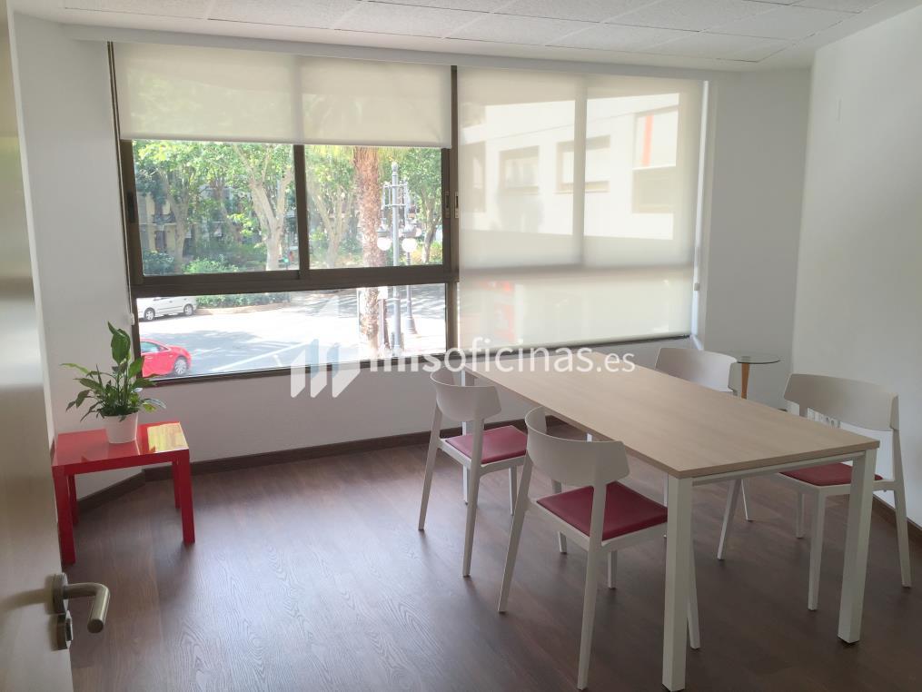 Oficina en alquiler en Calle Gran Vía Marques Del Turia 49, Pl.1 1 de 15 metros en Valencia foto 2