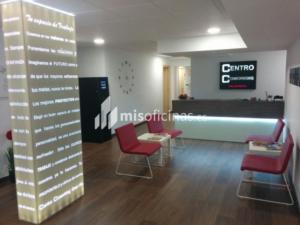 Oficina en alquiler en Calle Gran Vía Marques Del Turia 49, Pl.1 1 de 15 metros en Valencia foto 1