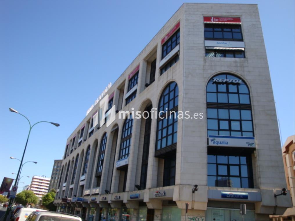 Oficina en alquiler de 76 metros en SevillaVista exterior frontal
