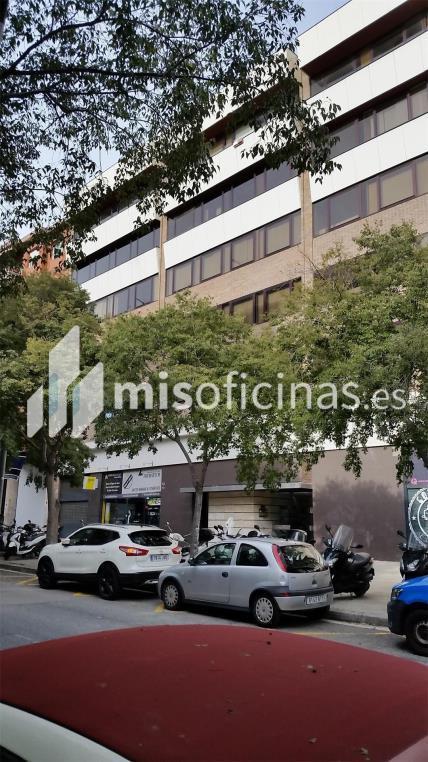 Oficina en alquiler en Avenida Tarradellas Nicaragua S/N, Pl.5 de 106 metros en Les Corts, BarcelonaVista exterior frontal