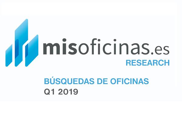 Informe de búsquedas de oficinas Q1 2019