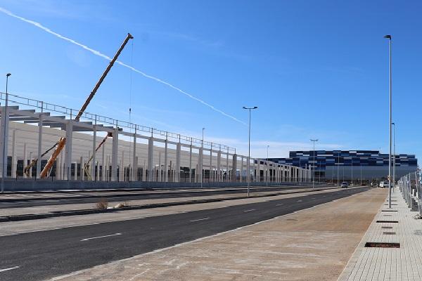 El Parque Empresarial Circuito de Cheste finaliza sus obras con el 85% del suelo comprometido