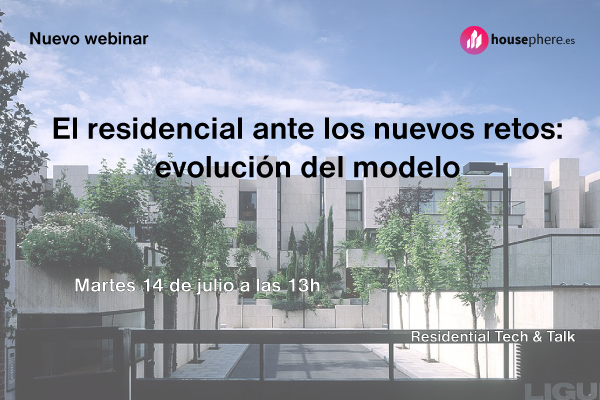 Presentación de Residential Tech & Talk, evento online con grandes figuras del sector residencial