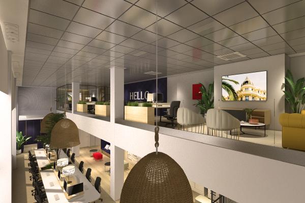 Nuevas oficinas de Pepe Jeans en Madrid, diseñadas por Comunica+A.