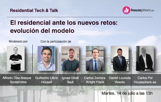 Los participantes de Residential Tech & Talk organizado por Housephere.es