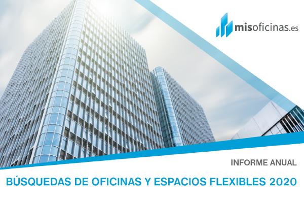 Informe anual sobre oficinas y espacios flexibles ofrecido pro Misoficinas.es