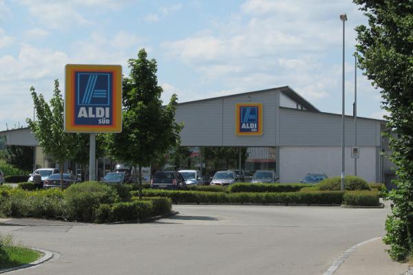 Supermercado de la cadena alemana Aldi