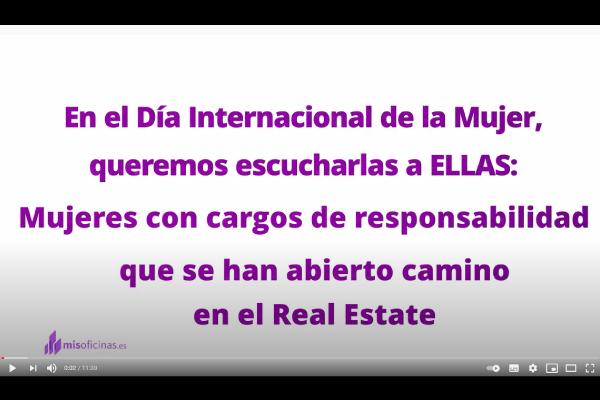 Entrevista a Alba Díaz de WIRES, Almudena Hernández de ProWorkSpaces, Joana Calvo de Colonial y Nieves Cañete de Altamira.